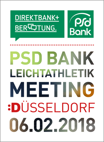 PSD Bank Leichtathletik Meeting Düsseldorf